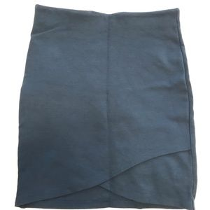 Talula Teal Mini Skirt